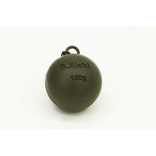 Ball Bomb Clip On Blei mit Big Ear & Swivel, 5 Stück 150g