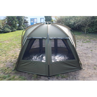 NEW - B.Richi Quickblock Pro II Quick Up Zelt 1 1/2 Man Bivvy Angelzelt Karpfenzelt