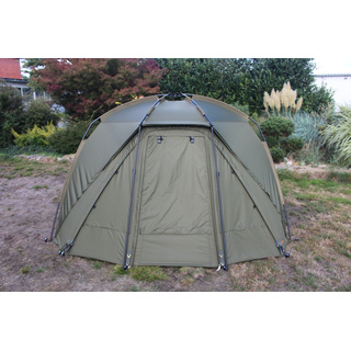 NEW - Big Deal - Quickblock Pro II Quick Up Zelt 1 1/2 Man Bivvy Angelzelt + Winterskin im Set